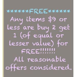 Tops - All items in my closet are priced to sell!